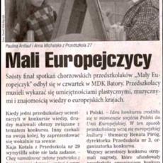 NR 16 (392) ROK 9  16.04.2008  TYGODNIK MIESZKAŃCÓW MIASTA Chorzowianin.