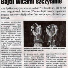NR 49 (478) ROK 10  09.12.2009  TYGODNIK MIESZKAŃCÓW MIASTA  Chorzowianin.